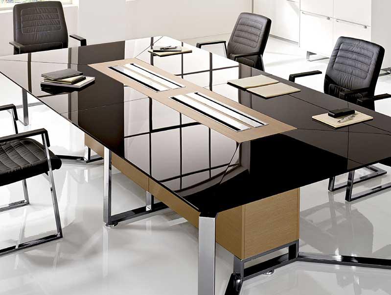 tables de reunion classic t45 i. Black Bedroom Furniture Sets. Home Design Ideas